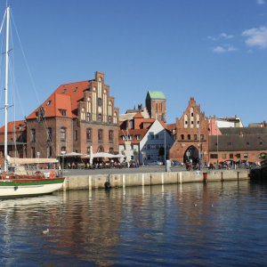 Alter Hafen in Wismar